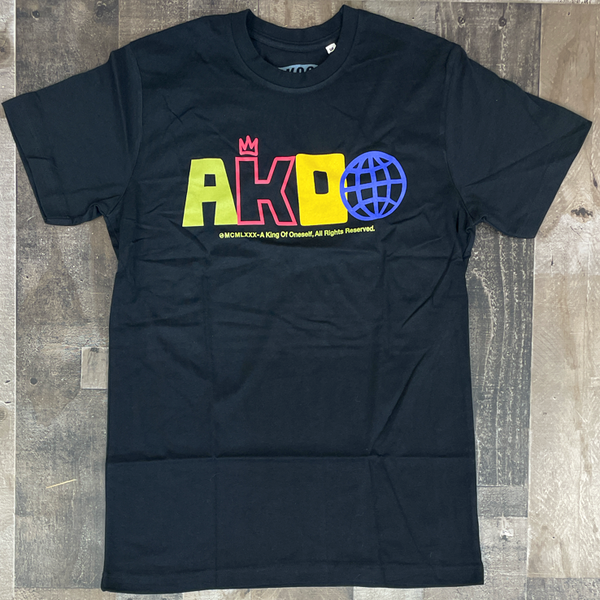 Akoo- world wide ss tee