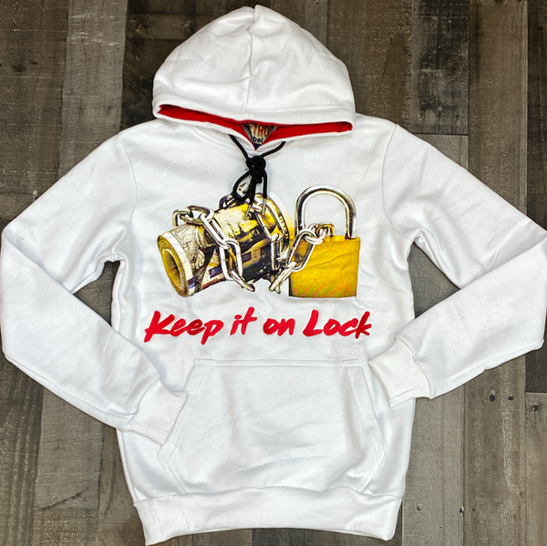 Retro Label- 4s OG keep it on lock hoodie