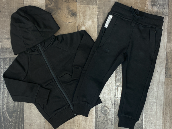 Jordan Craig- basic sweatsuit (black) (kids)