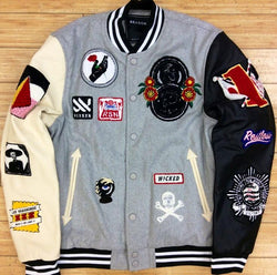 Reason-panther varsity jacket