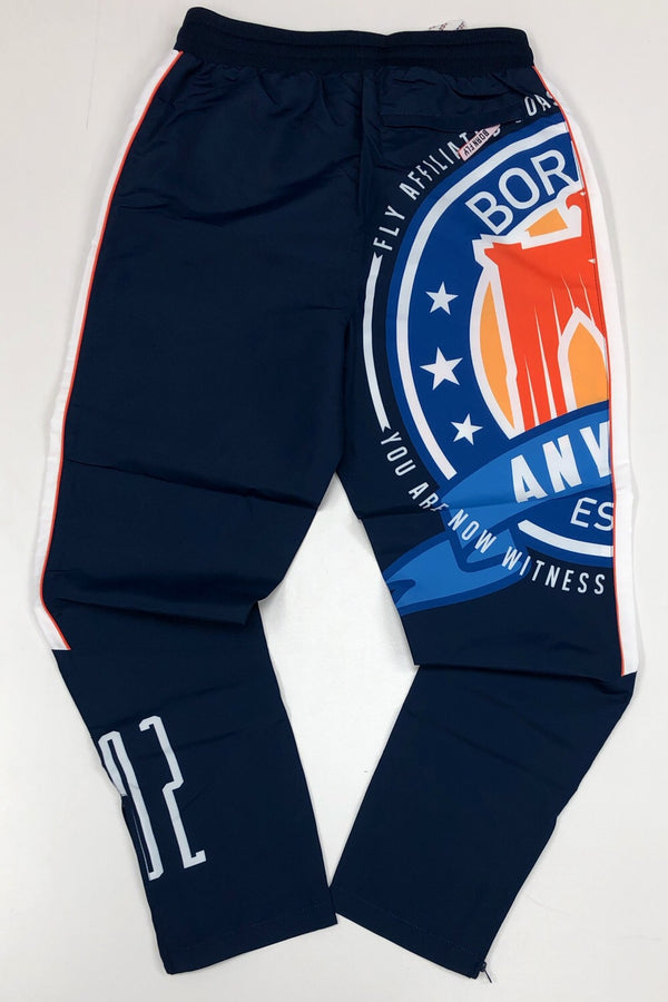 Born fly- fly logo track pants