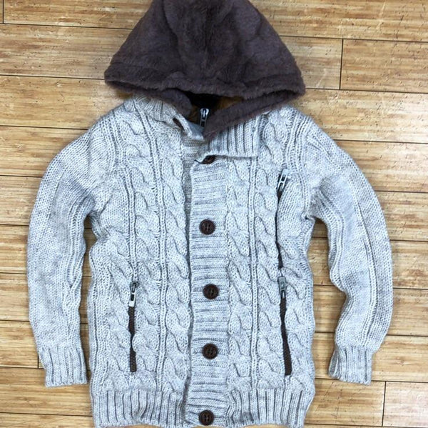 Young republic - cable knit hoody