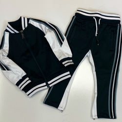 Jordan craig- color block tracksuit w. stripes (kids)