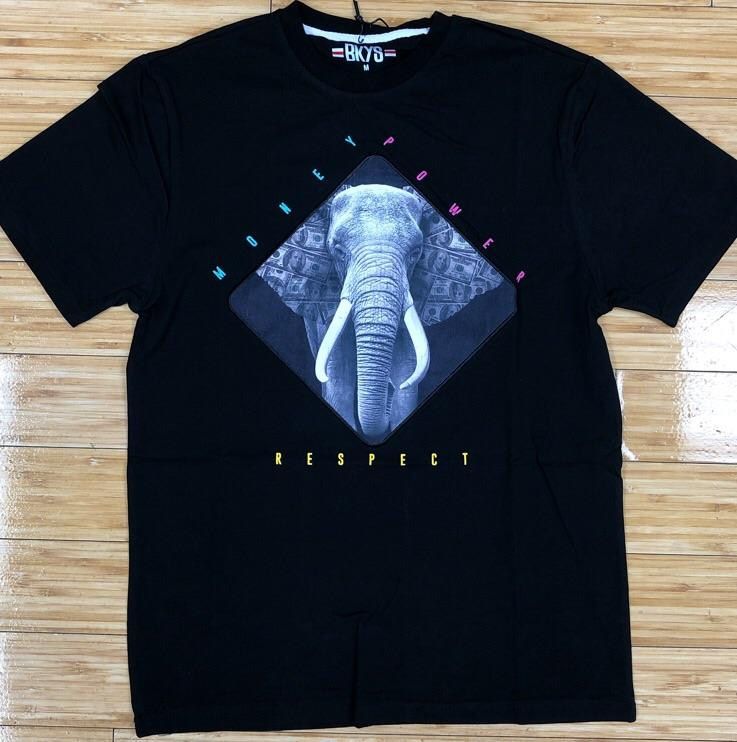 BKYS- money power respect ss tee