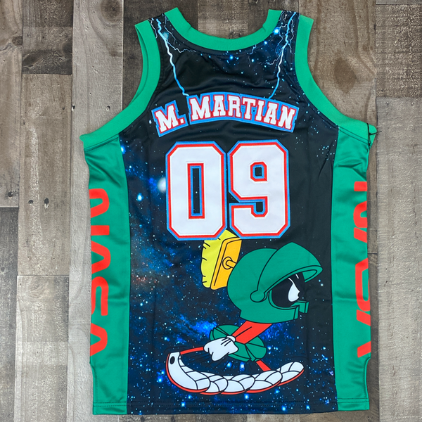 Headgear Classics- Marvin the Martian space jam jersey