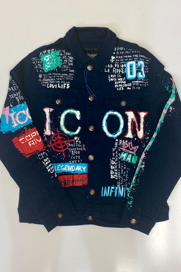 Copper river- Icon jean jacket