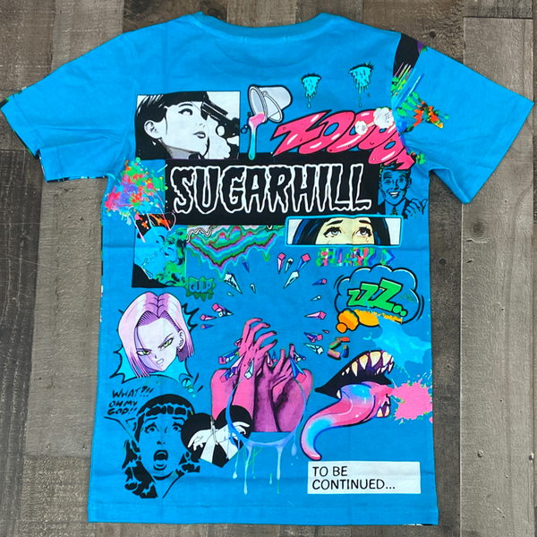 Sugarhill- psycho ss tee (turquoise)