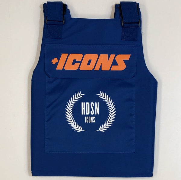 Hudson- restricted vest (blue)