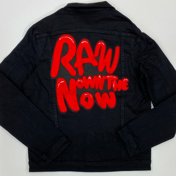 Rawyalty- raw own the now jean jacket