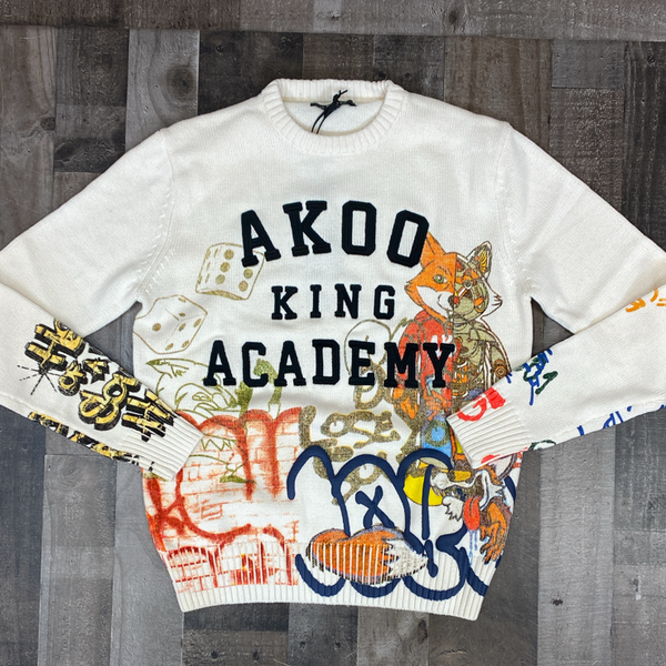 Akoo- private school sweater