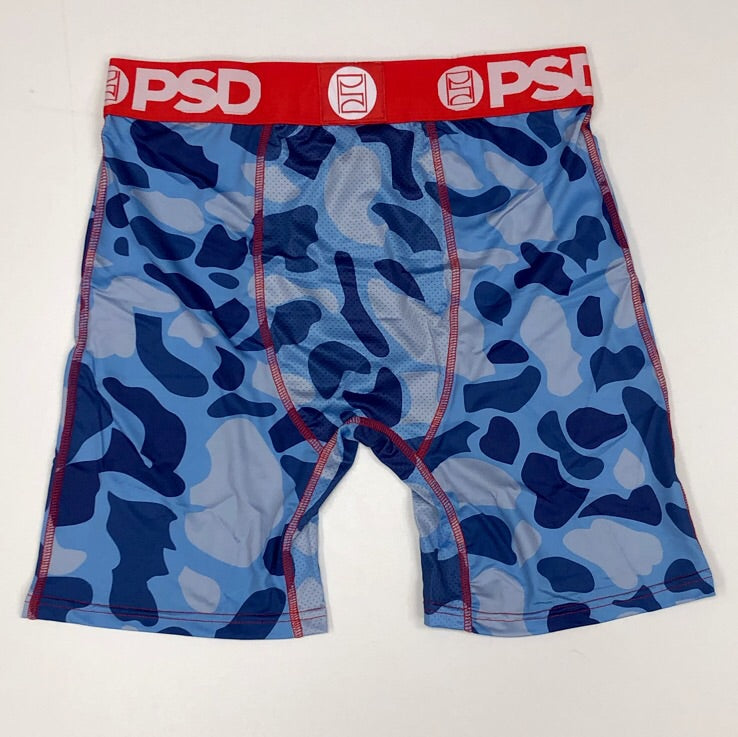 PSD- blue camo warface boxers
