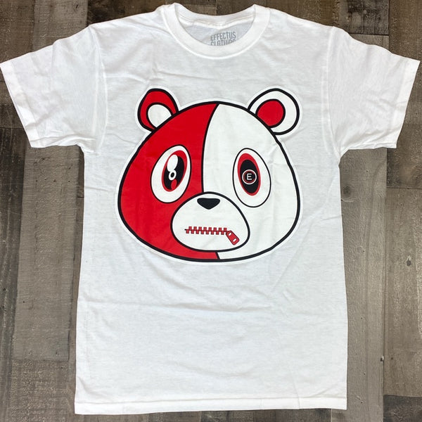 Effectus Clothing- e bear ss tee (white/red)
