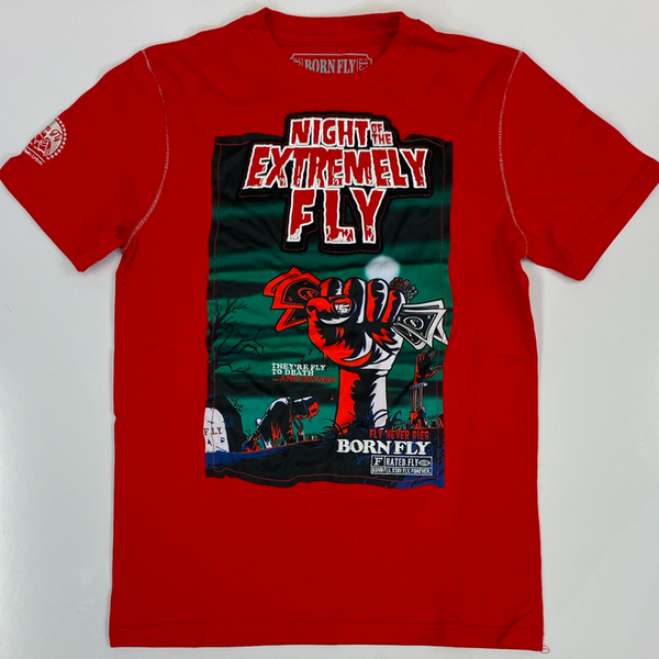 Born fly- extremely fly ss tee