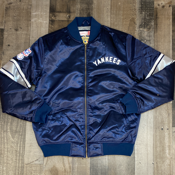 Mitchell & Ness- MLB heavyweight satin jacket New York Yankees