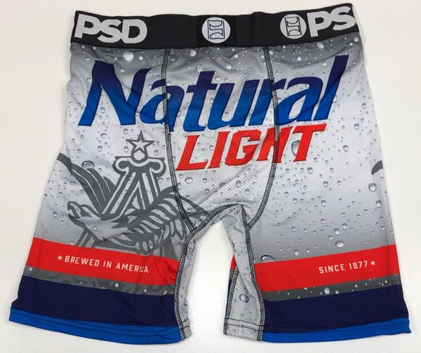 PSD- natty light boxers