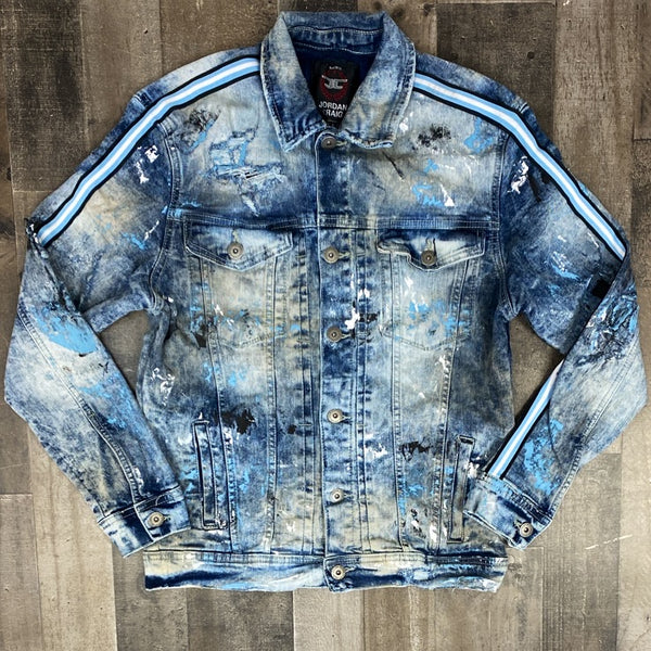Jordan Craig- University Blue Jean Jacket