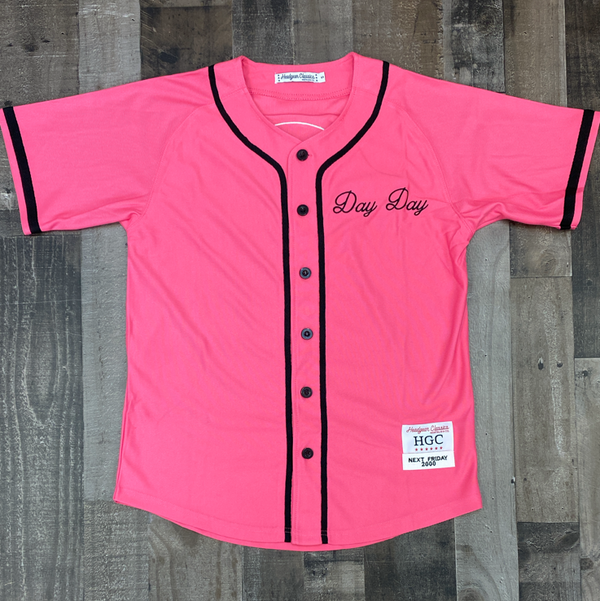 Headgear Classics- pinky's record shop baseball jersey