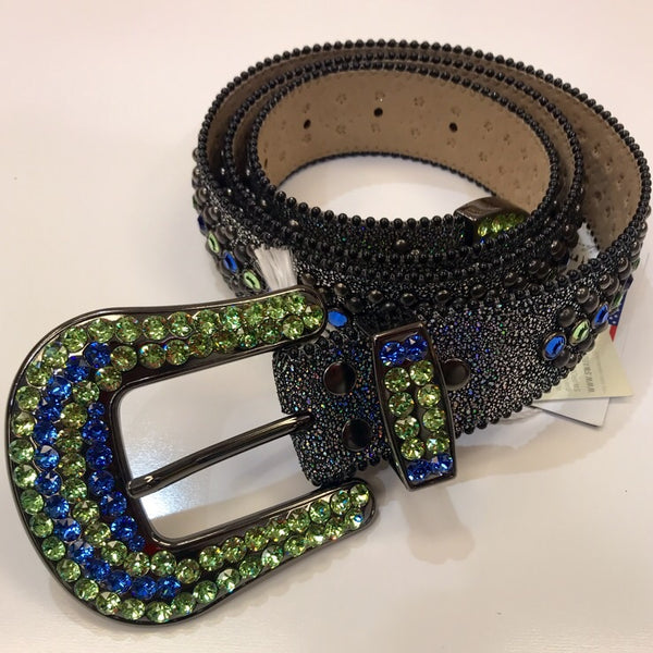B.b simon-swarovski crystal belt