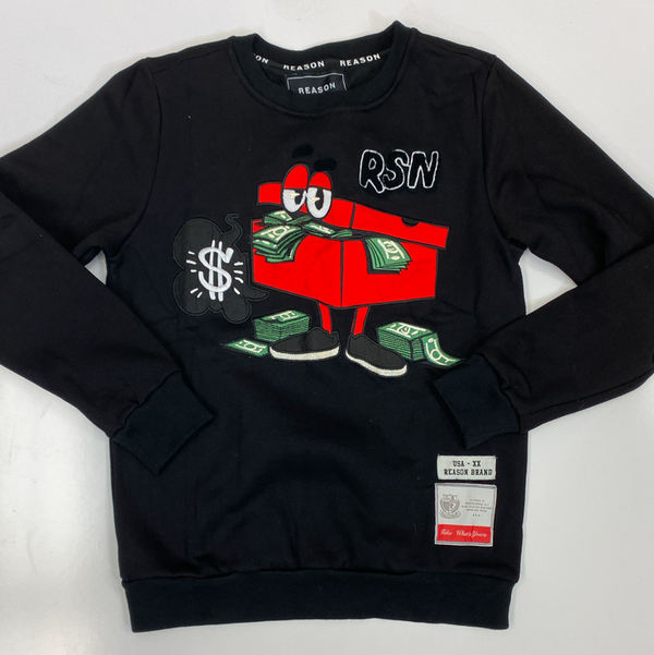 Reason- stash crewneck