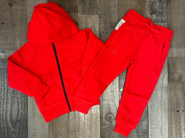 Jordan Craig- basic sweatsuit (red) (kids)