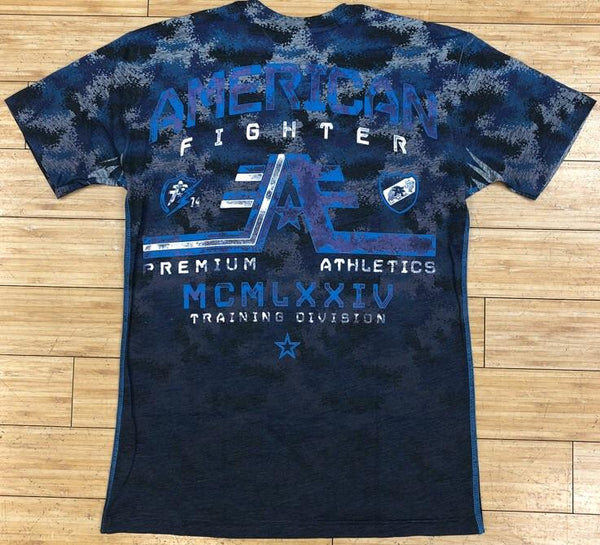 American fighter- Wyoming ss tmt tee