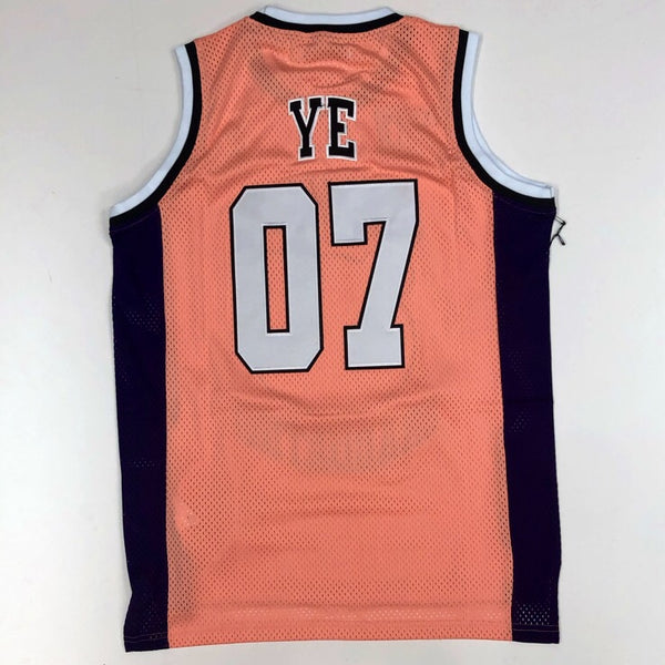 Headgear classics- kanye west high school basketball jersey
