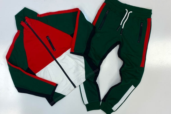 Jordan craig- color blocked sweatsuit (kids)