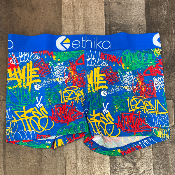 Ethika- expression session boy shorts (women)