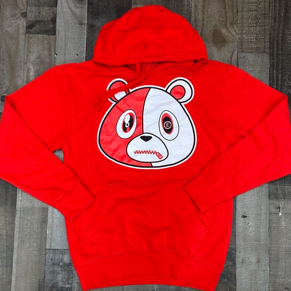 Effectus Clothing- e bear hoodie (red)