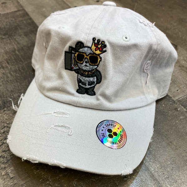 Muka- hip hop panda dad hat