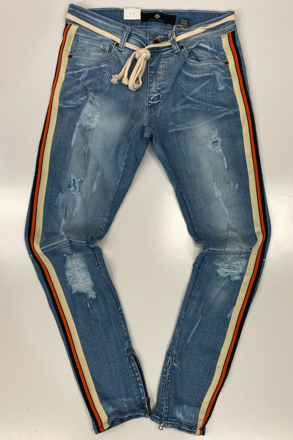 Focus- side stripe jeans