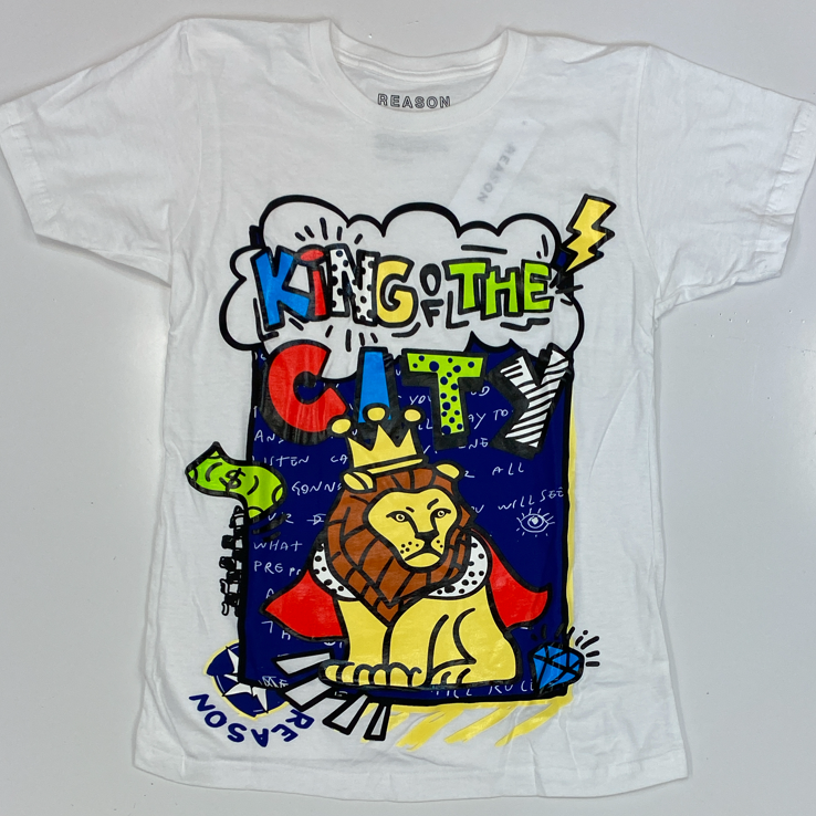 Reason- king of the city lion ss tee
