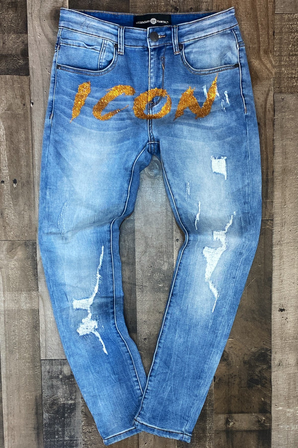 Rawyalty- Icon jeans (gold)