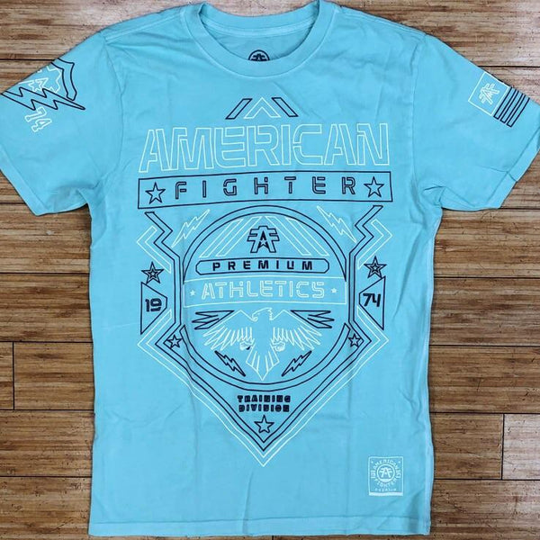 American fighter- Galveston ss tee