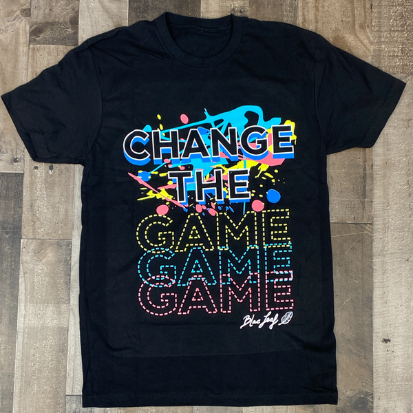 Blac Leaf- change the game ss tee