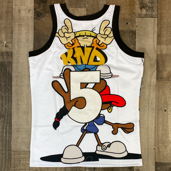 Headgear Classics- codename kids next door basketball jersey