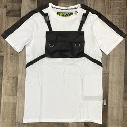 Hard Soda- pouch ss tee (white)