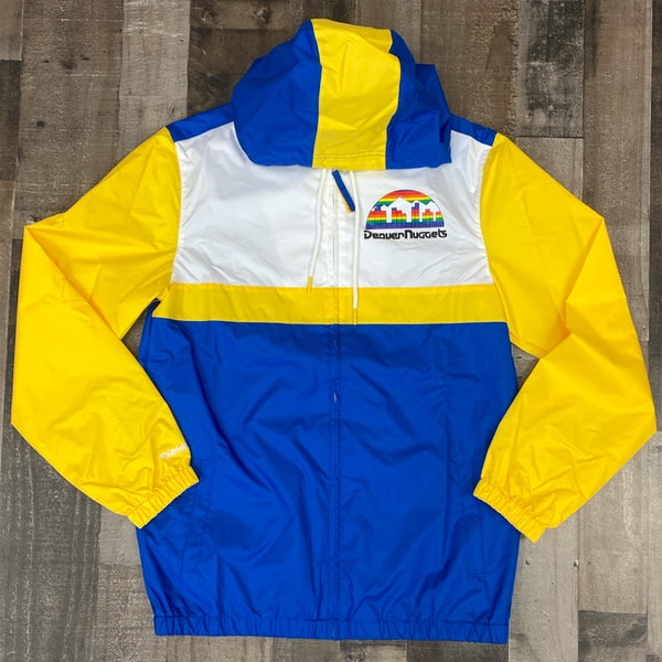 Mitchell & Ness- Denver Nuggets windbreaker