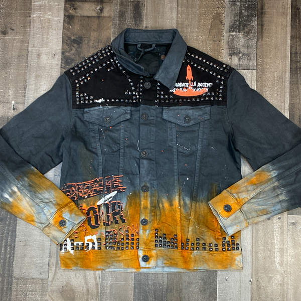 Alien 51- dream it to live it jean jacket
