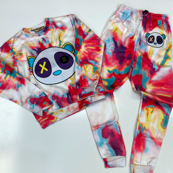 Retro Label- max panda watermark sweatsuit