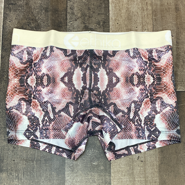 Ethika- anaconda boy shorts (women)