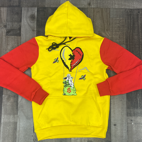 Retro Label- 5s what the air hoodie