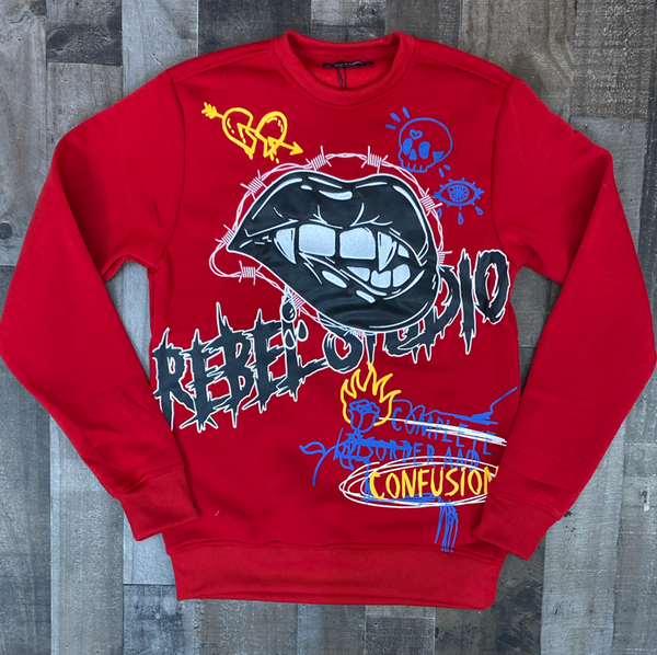 Rebel minds- real studio crewneck