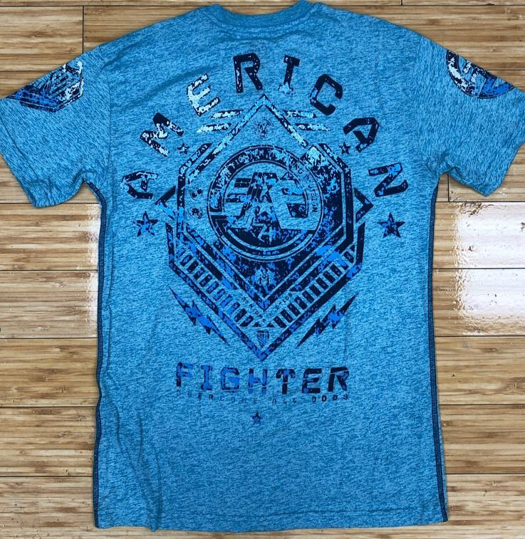 American fighter- Haskins ss tee