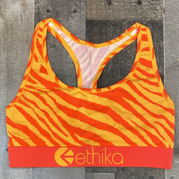 Ethika- tiger fire bra (women)
