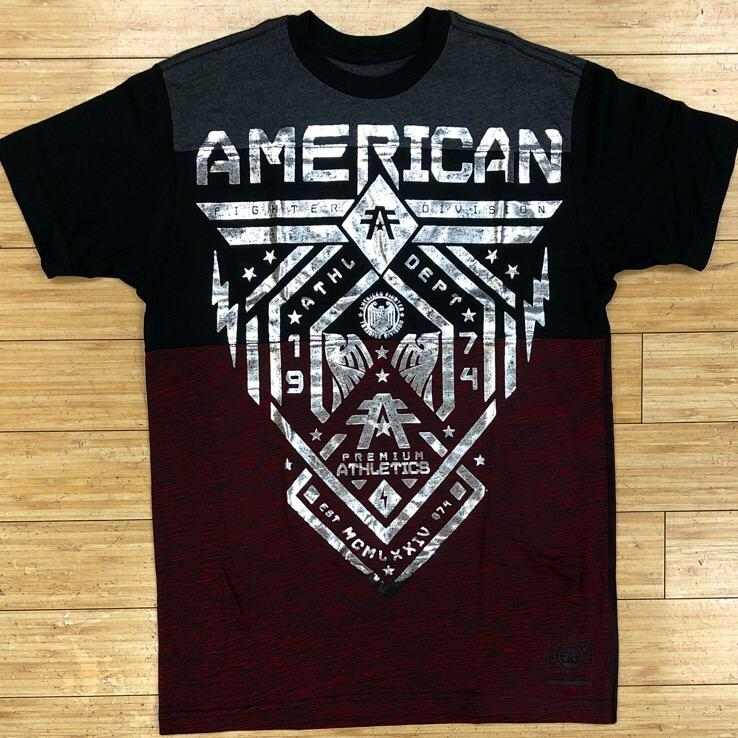 American fighter- Fairbanks ss panel tee