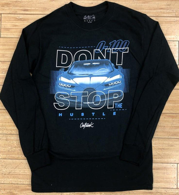 Outrank- don't stop ls tee
