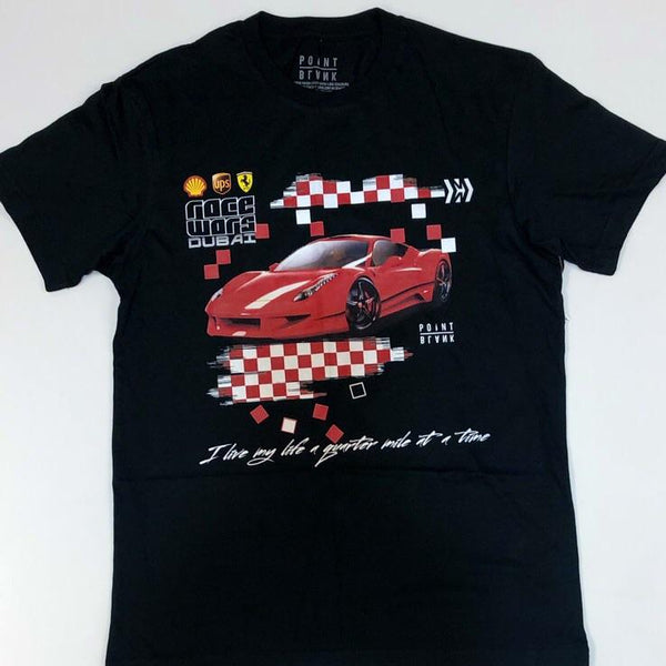 Point blank- fast lane ss tee