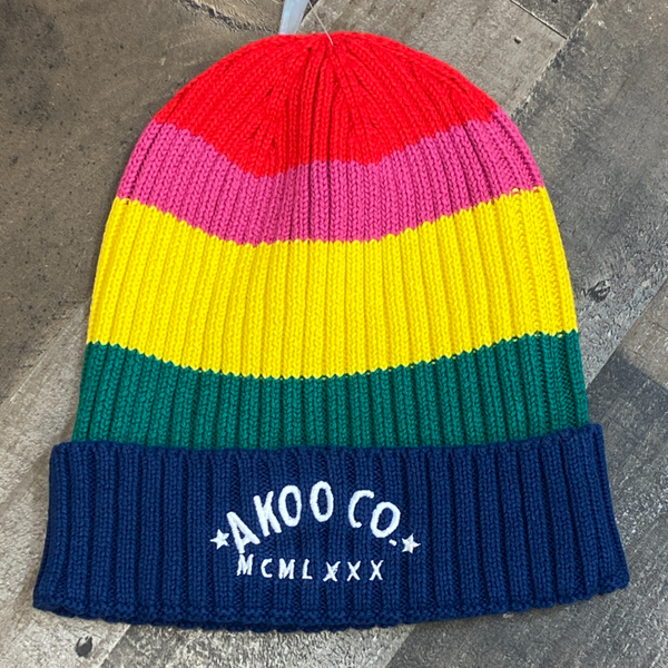 Akoo- hippie knit hat