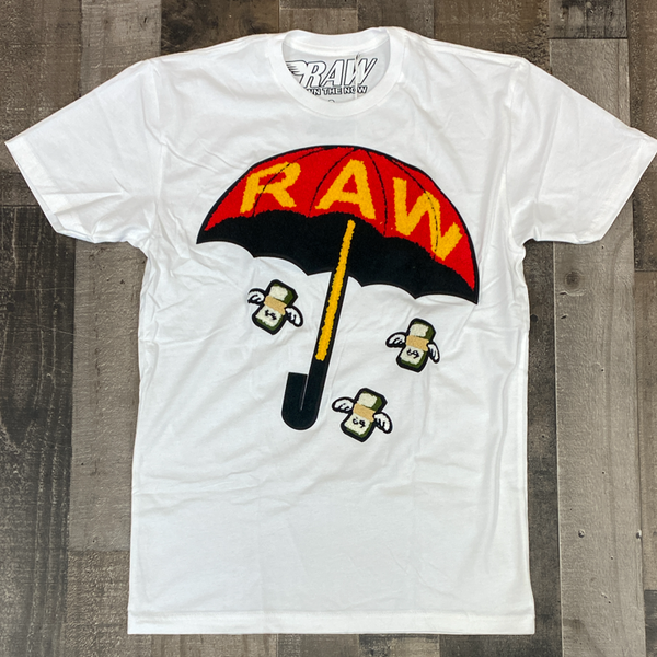 Rawyalty- raw make it fly ss tee (white)